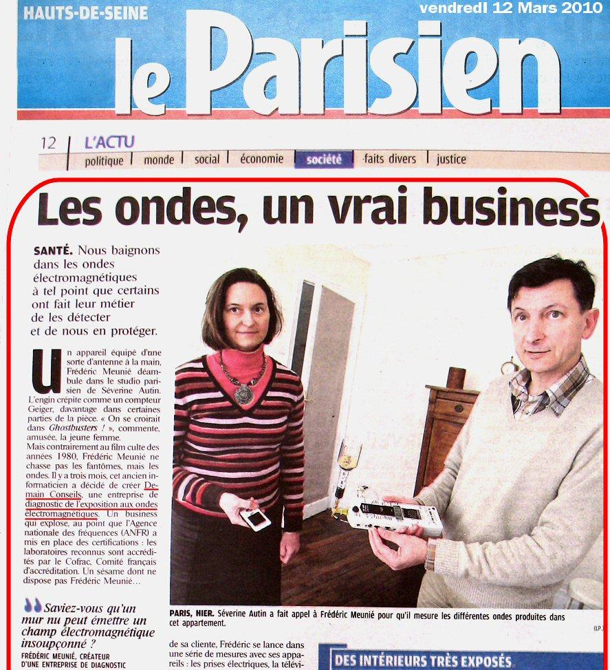On parle de nous dans Le Parisien