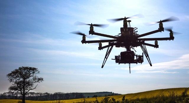 drones de mesure des ondes