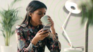 MyLiFi, première lampe LiFi connectée