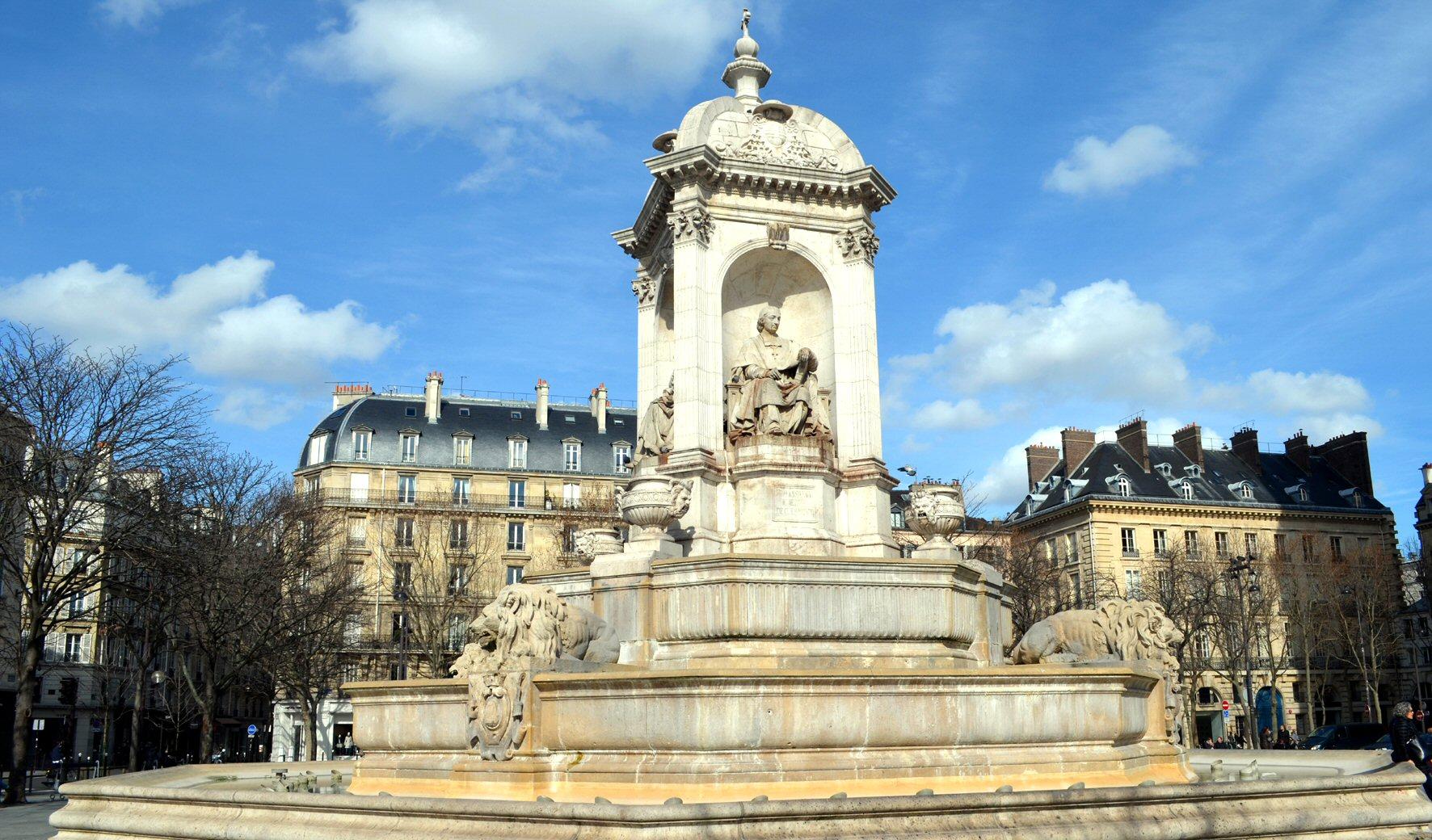 Paris 75006 Saint-Sulpice, détection objective des champs électromagnétiques