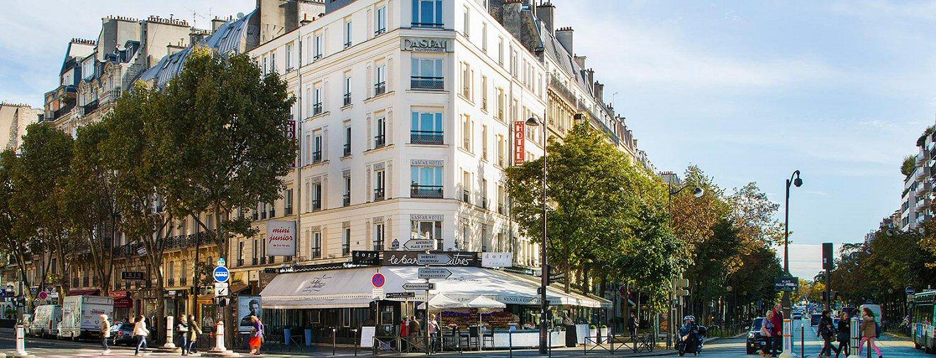 Paris 75014 Raspail - Mesure des ondes électromagnétiques