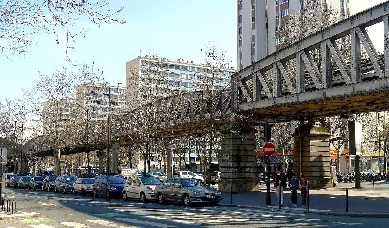 Paris 75014 Saint-Jacques - Mesure des ondes électromagnétiques