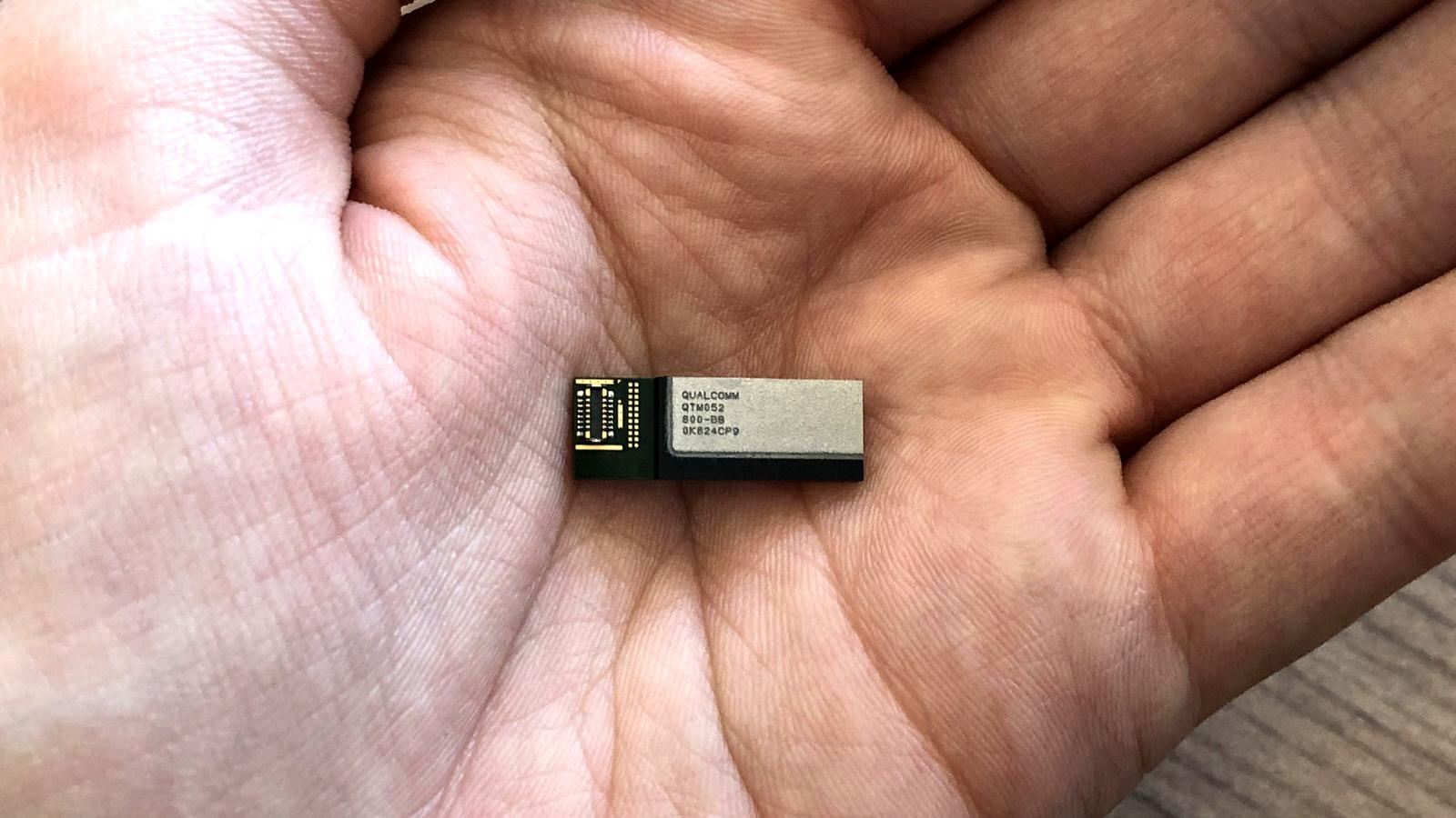 La 5G en ultra-hautes fréquences avec l'antenne Qualcomm