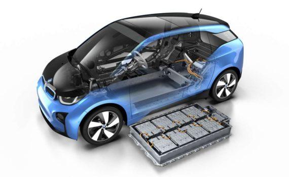 voiture électrique batteries