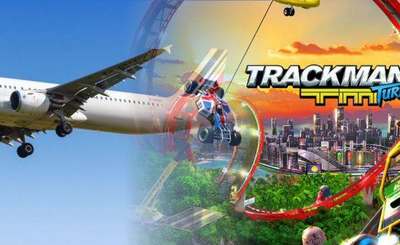 Le Lifi testé en avion avec Trackmania