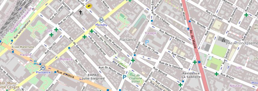 Paris 75014 Plaisance - Diagnostic objectif des ondes électro-magnétiques d'un appartement, par Demain Conseils